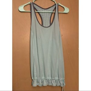 Lululemon Racer Back Tank Top with Drawcord Hem